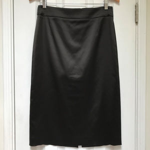 Hugo Boss shimmer black pencil skirt size 6